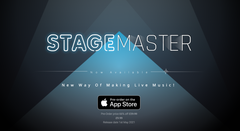 Stage Master app website view